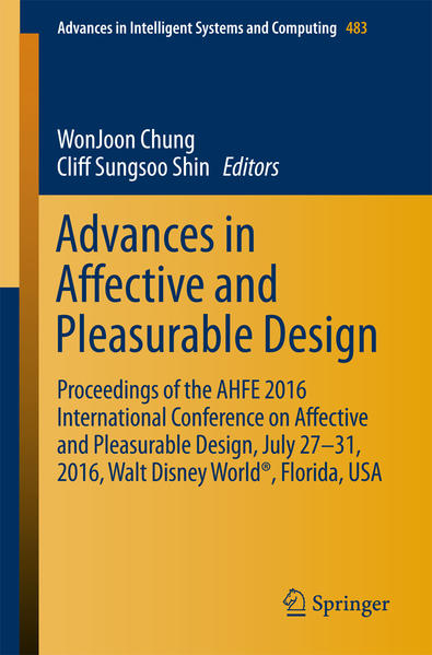 Advances in Affective and Pleasurable Design  - Coverbild