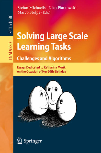 Solving Large Scale Learning Tasks. Challenges and Algorithms - Coverbild