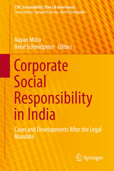 Corporate Social Responsibility in India - Coverbild