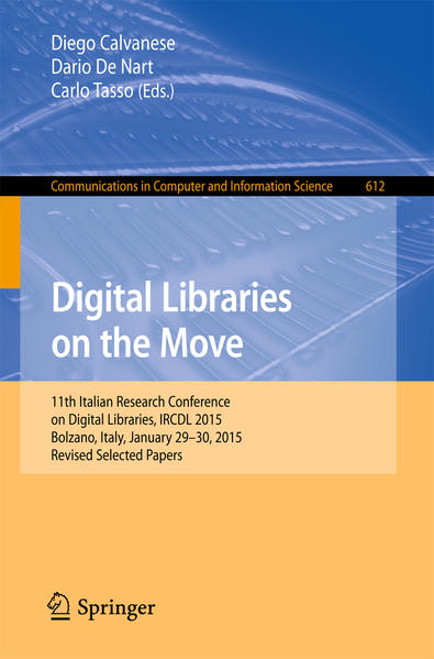 Digital Libraries on the Move - Coverbild