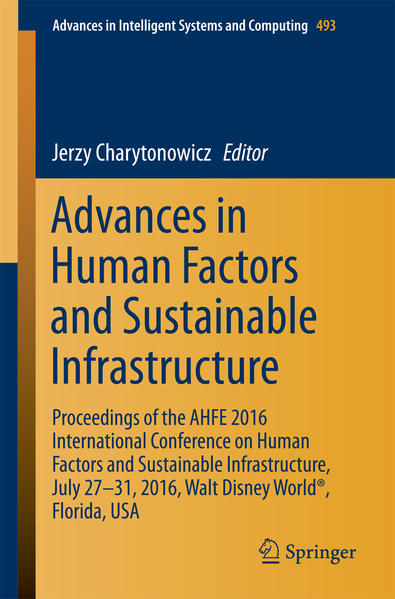 Advances in Human Factors and Sustainable Infrastructure - Coverbild