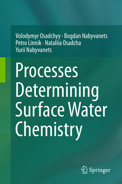 Processes Determining Surface Water Chemistry - Coverbild