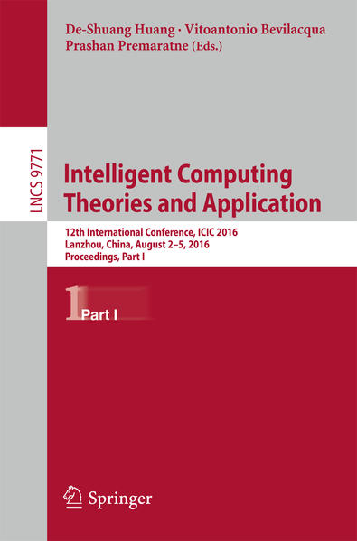 Intelligent Computing Theories and Application - Coverbild