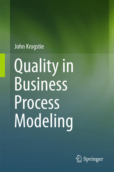Quality in Business Process Modeling - Coverbild