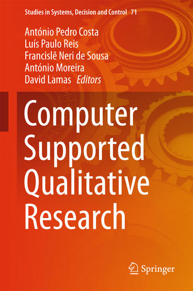 Computer Supported Qualitative Research - Coverbild