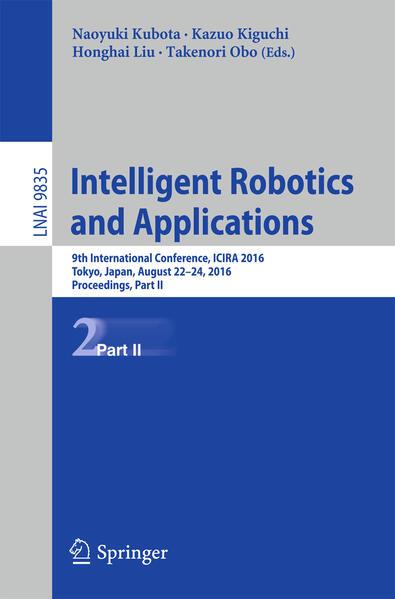 Intelligent Robotics and Applications - Coverbild