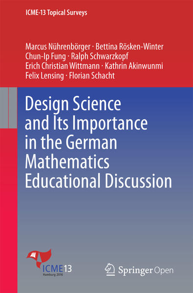 Design Science and Its Importance in the German Mathematics Educational Discussion - Coverbild