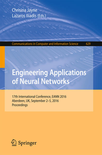 Engineering Applications of Neural Networks - Coverbild