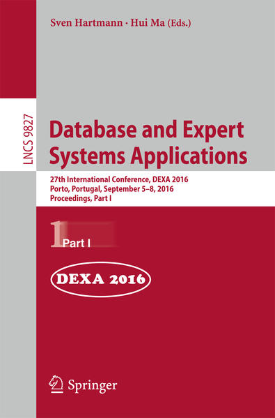 Database and Expert Systems Applications - Coverbild