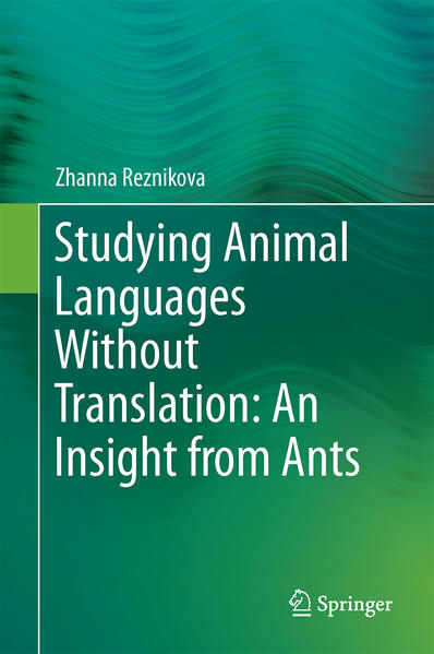 Studying Animal Languages Without Translation: An Insight from Ants - Coverbild