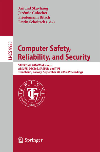 Computer Safety, Reliability, and Security - Coverbild
