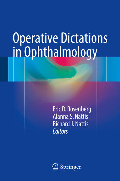 Operative Dictations in Ophthalmology - Coverbild