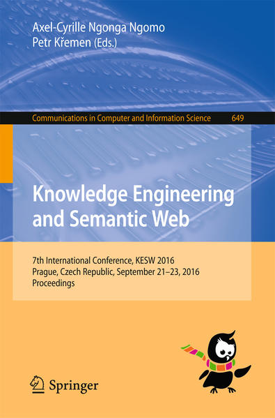 Knowledge Engineering and Semantic Web - Coverbild