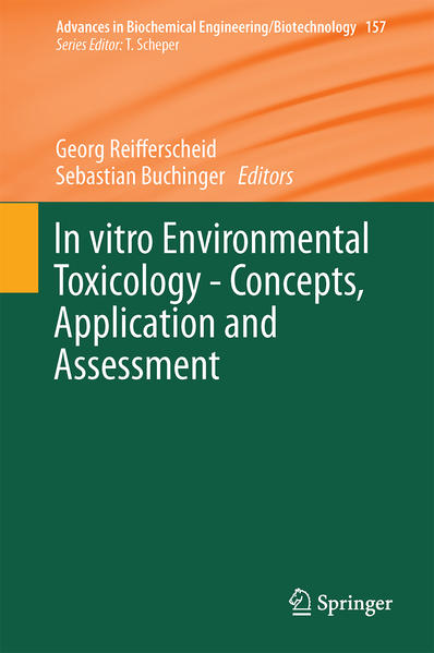 In vitro Environmental Toxicology - Concepts, Application and Assessment - Coverbild