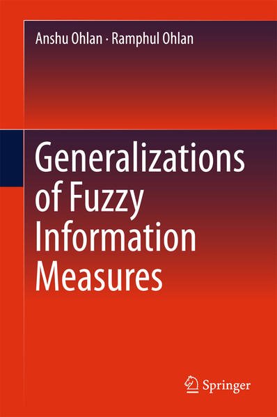 Generalizations of Fuzzy Information Measures - Coverbild