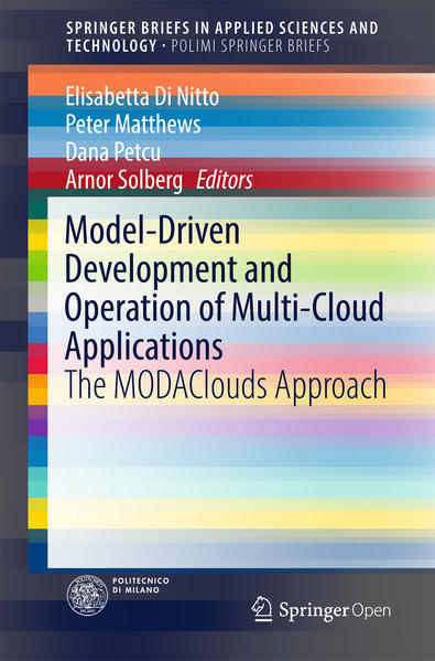 Model-Driven Development and Operation of Multi-Cloud Applications - Coverbild