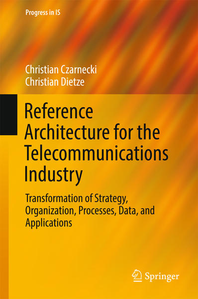 Reference Architecture for the Telecommunications Industry - Coverbild