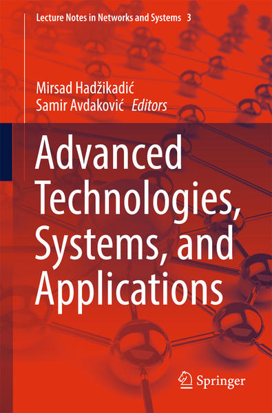 Advanced Technologies, Systems, and Applications - Coverbild