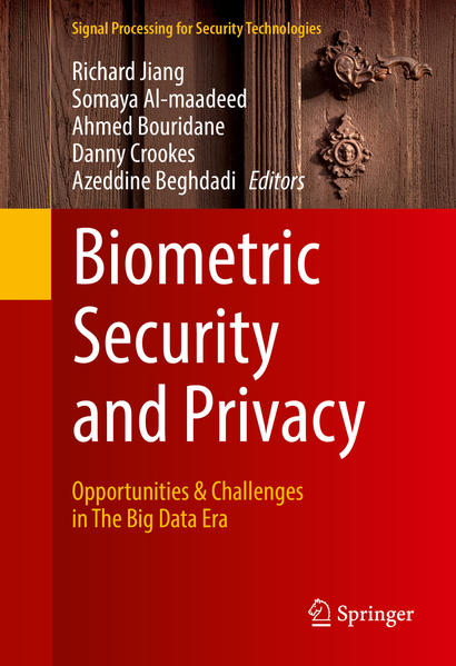 Biometric Security and Privacy - Coverbild