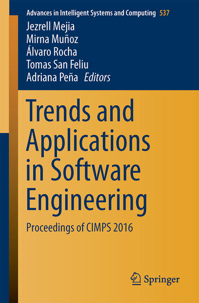 Trends and Applications in Software Engineering - Coverbild