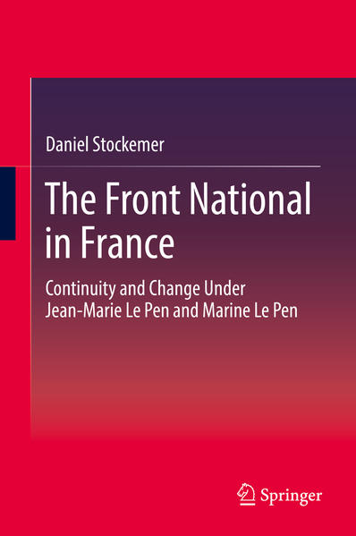 The Front National in France - Coverbild