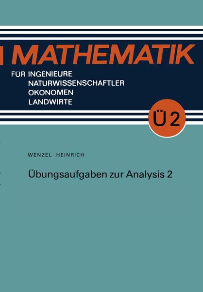 Übungsaufgaben zur Analysis 2 - Coverbild