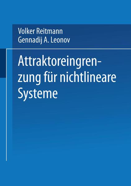 Attraktoreingrenzung für nichtlineare Systeme - Coverbild