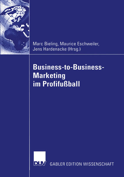 Business-to-Business-Marketing im Profifußball - Coverbild