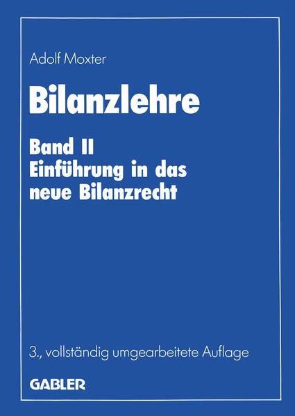 Bilanzlehre - Coverbild