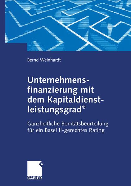Unternehmensfinanzierung mit dem Kapital-dienstleistungsgrad® - Coverbild