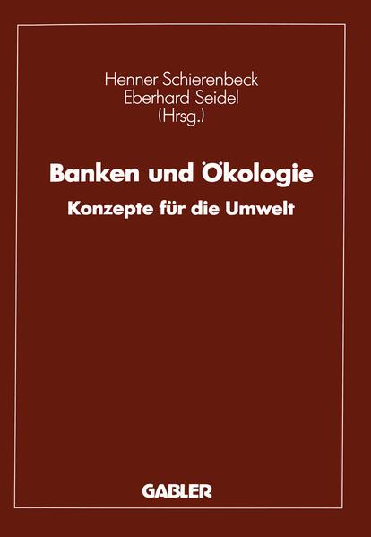 Banken und Ökologie - Coverbild