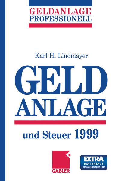 Geldanlage und Steuer 1999 - Coverbild