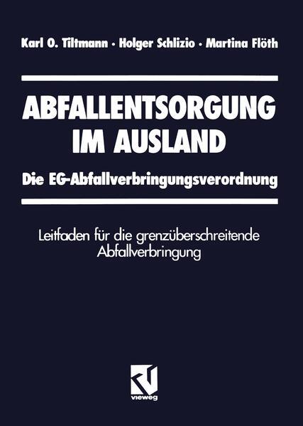 Abfallentsorgung im Ausland - Coverbild