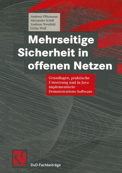 Mehrseitige Sicherheit in offenen Netzen - Coverbild