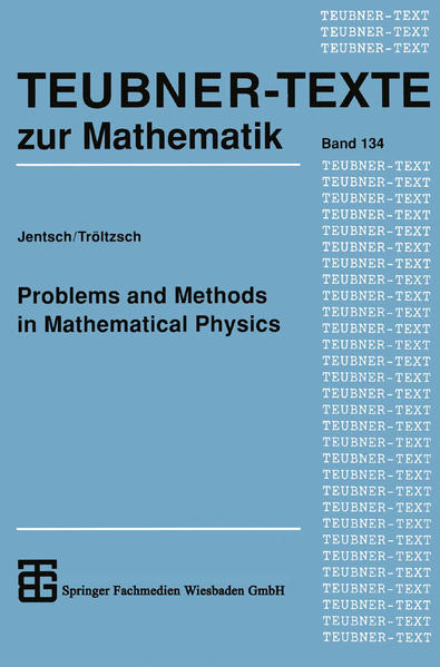 Problems and Methods in Mathematical Physics - Coverbild