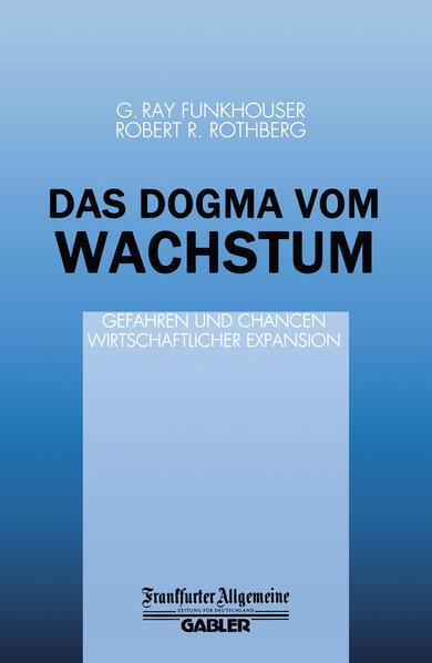Das Dogma vom Wachstum - Coverbild