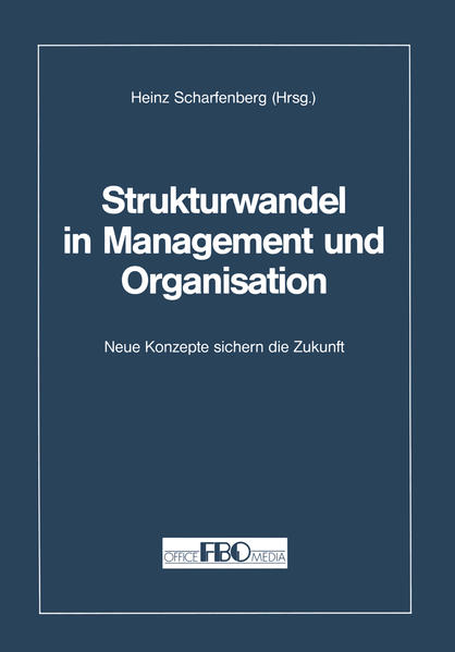 Strukturwandel in Management und Organisation - Coverbild