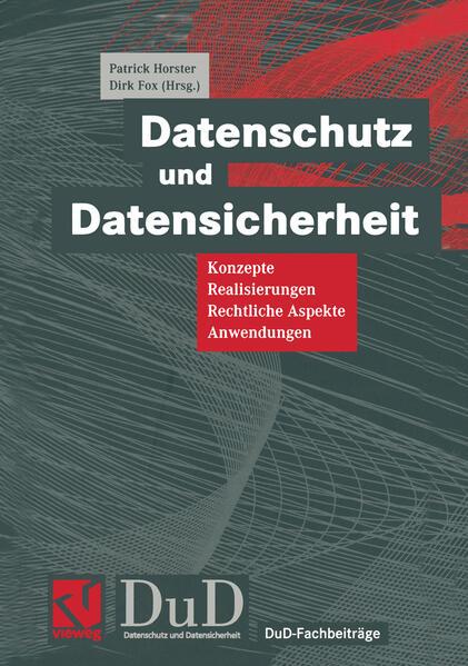 Datenschutz und Datensicherheit - Coverbild