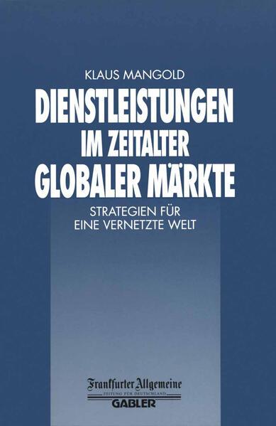Dienstleistungen im Zeitalter Globaler Märkte - Coverbild