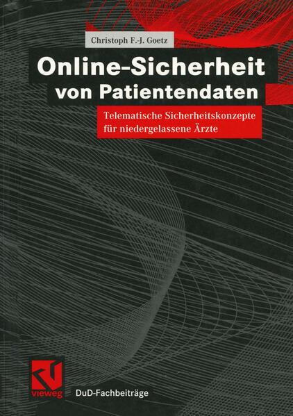Online-Sicherheit von Patientendaten - Coverbild