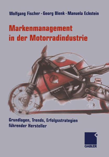 Markenmanagement in der Motorradindustrie - Coverbild