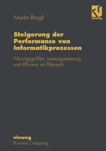 Steigerung der Performance von Informatikprozessen - Coverbild
