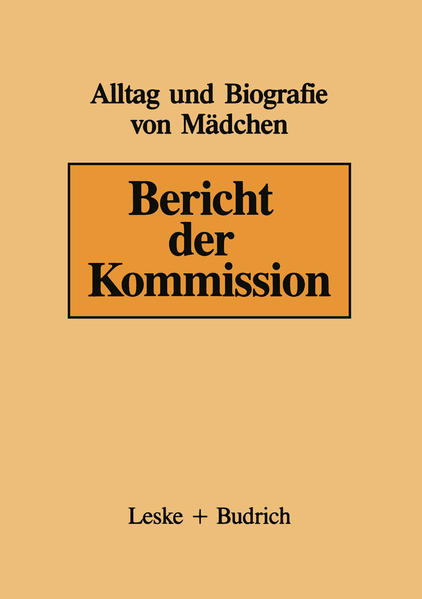 Bericht der Kommission - Coverbild