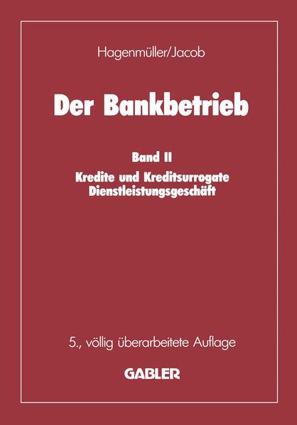 Der Bankbetrieb - Coverbild