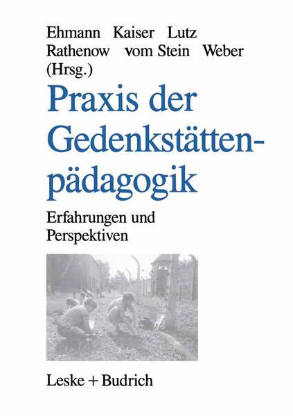 Praxis der Gedenkstättenpädagogik - Coverbild