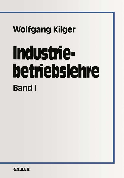 Industriebetriebslehre - Coverbild