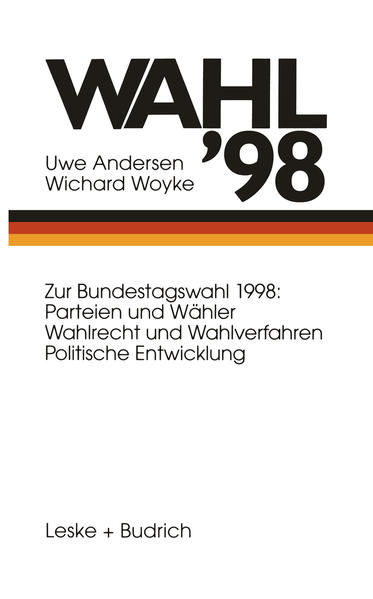 Wahl '98 - Coverbild