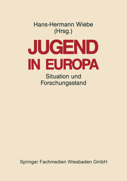 Jugend in Europa - Coverbild