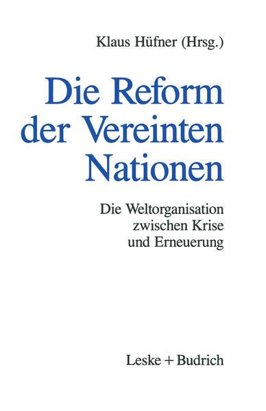 Die Reform der Vereinten Nationen Epub Kostenloser Download