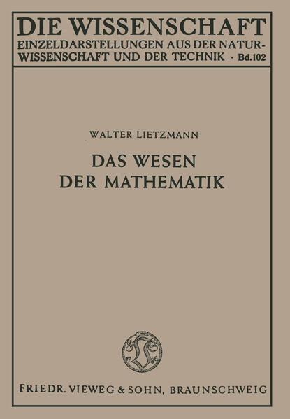 Das Wesen der Mathematik - Coverbild